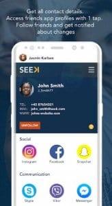 Seek Contacts
