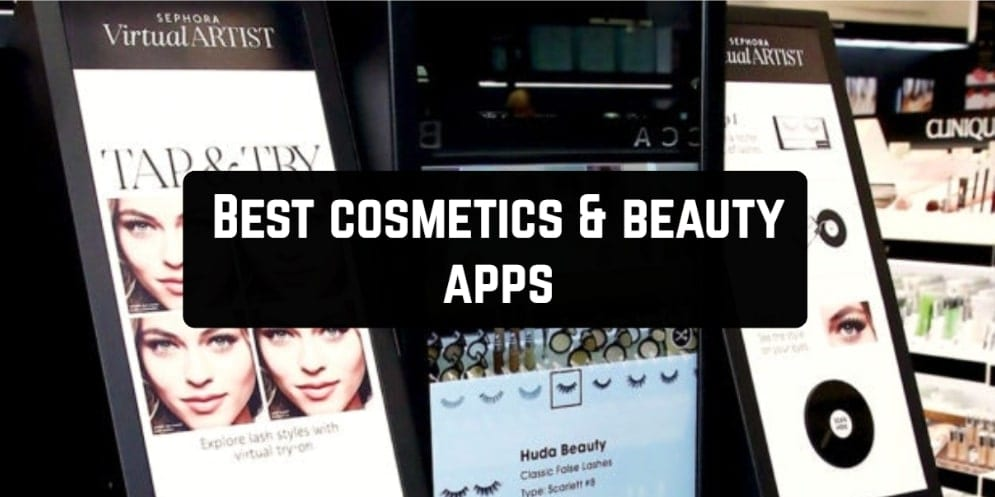 Best cosmetics & beauty apps