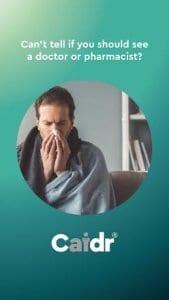 Caidr   Symptom Checker & Healthcare Guide at Hand