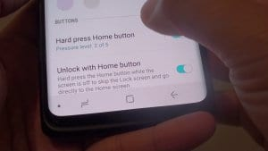 Disabling the lock screen when you are at home