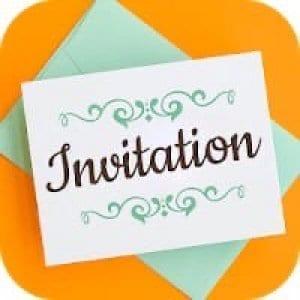 Invitation Card Maker, Invite Maker