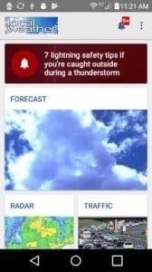 Local Weather Radar & Forecast