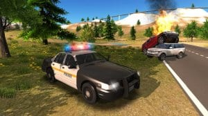 Police Car Driving Offroad2