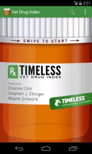 Timeless Vet Drug Index1
