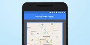 WiFi when opening Google Maps