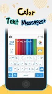 color text messages plus2