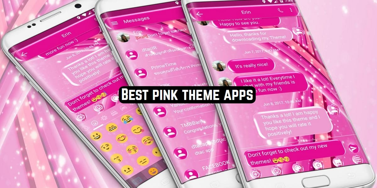pink themes
