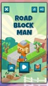 Road Block Man