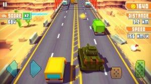 Blocky Highway: Traffic Racing