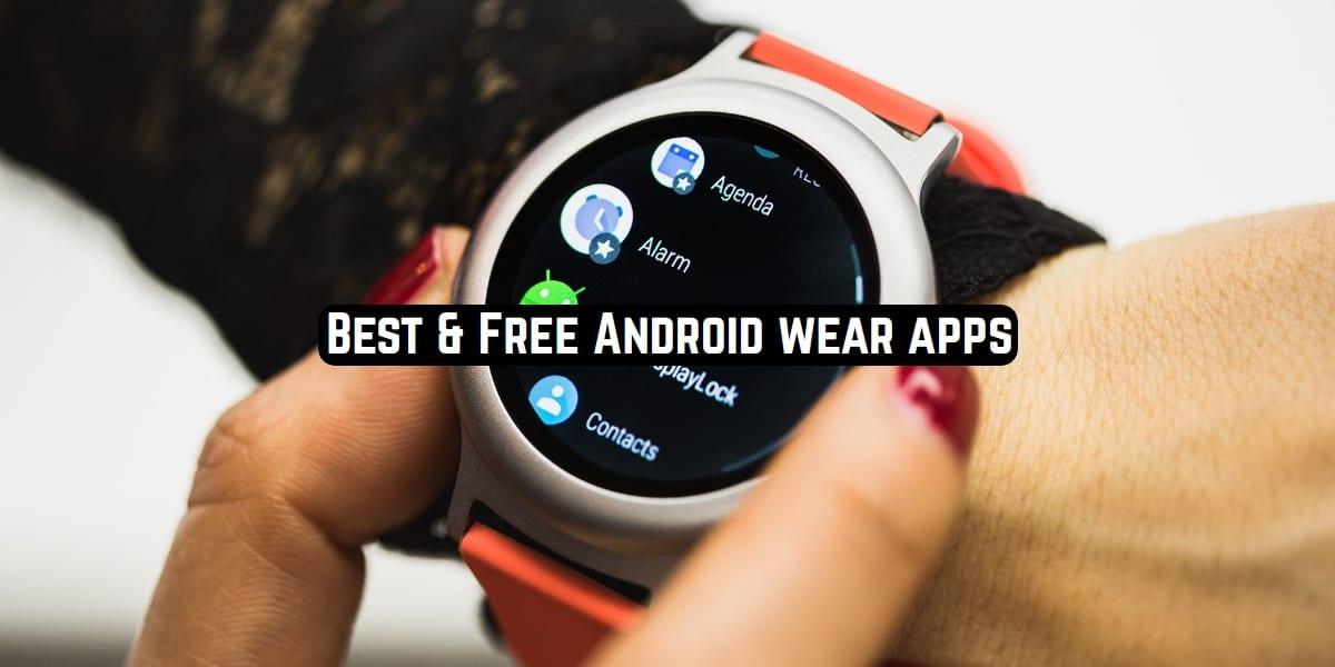 wear os apps