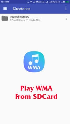 wma music player2
