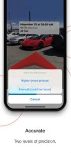 Find your car with AR2