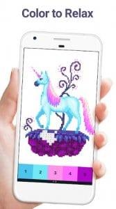 Pixel art Color by Number1Pixel art Color by Number1