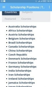 Scholarships For International Students1