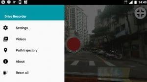 Drive Recorder: A free dash cam app