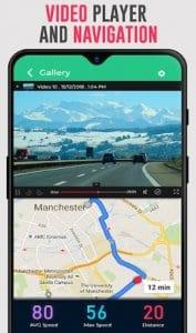 Speedometer Dash Cam: Speed Limit & Car Video App