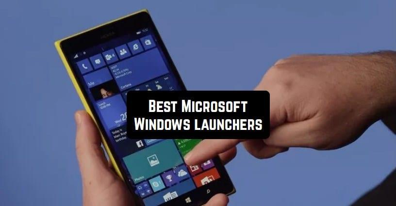 Microsoft Windows launchers