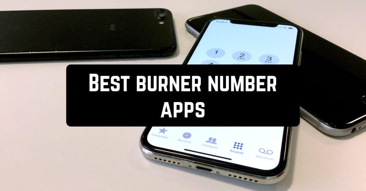 Best burner number apps