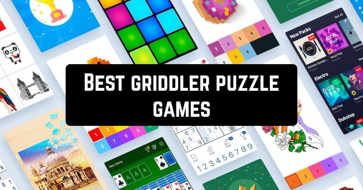 Best griddler puzzle games