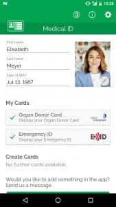 Echo112 – Medical ID