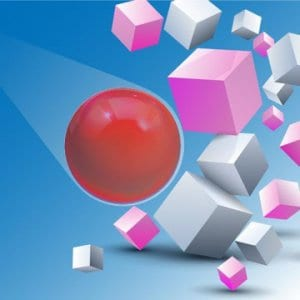 Fire Fall: Bouncy Ball Brick Breaker Game