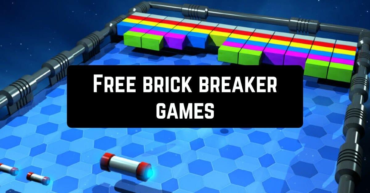Free brick breaker games