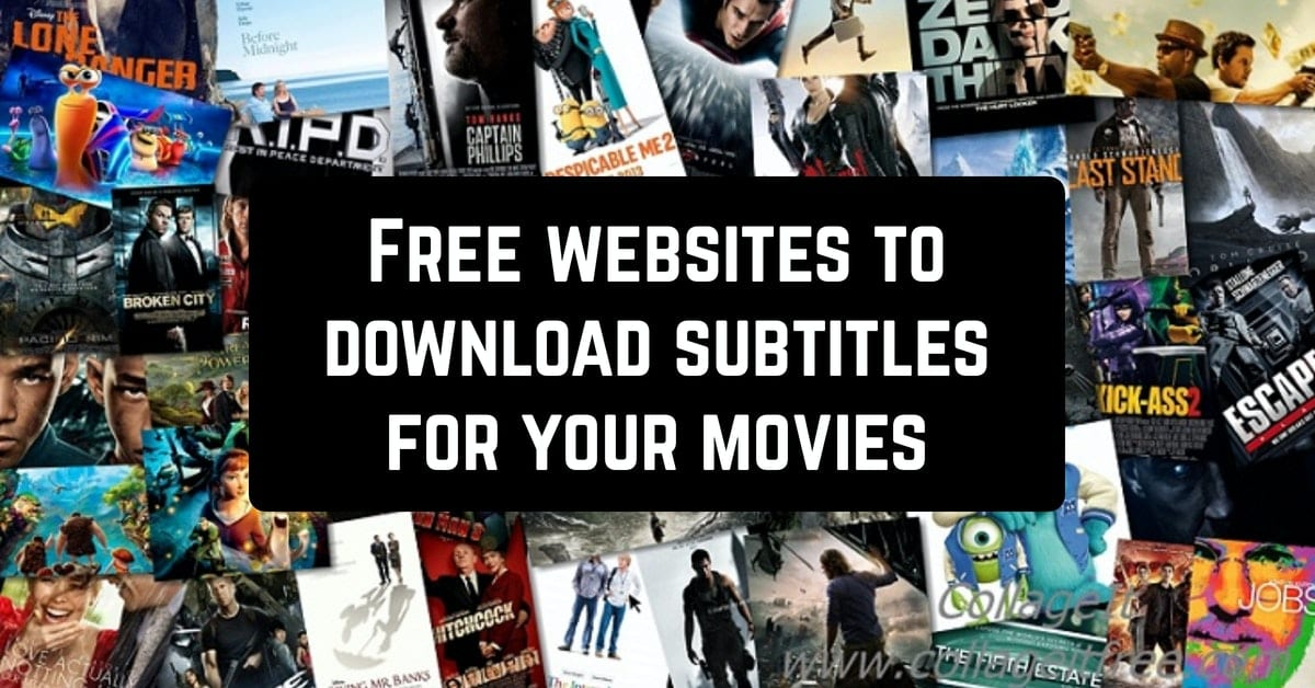 Free websites to download subtitles for your movies