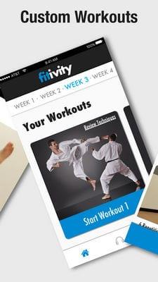 karate training1