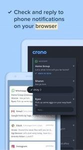 Crono screen 1