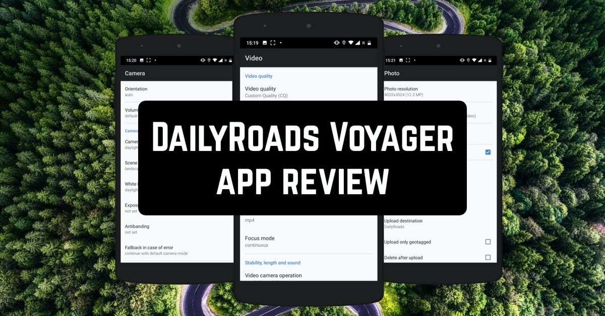 DailyRoads Voyager app review