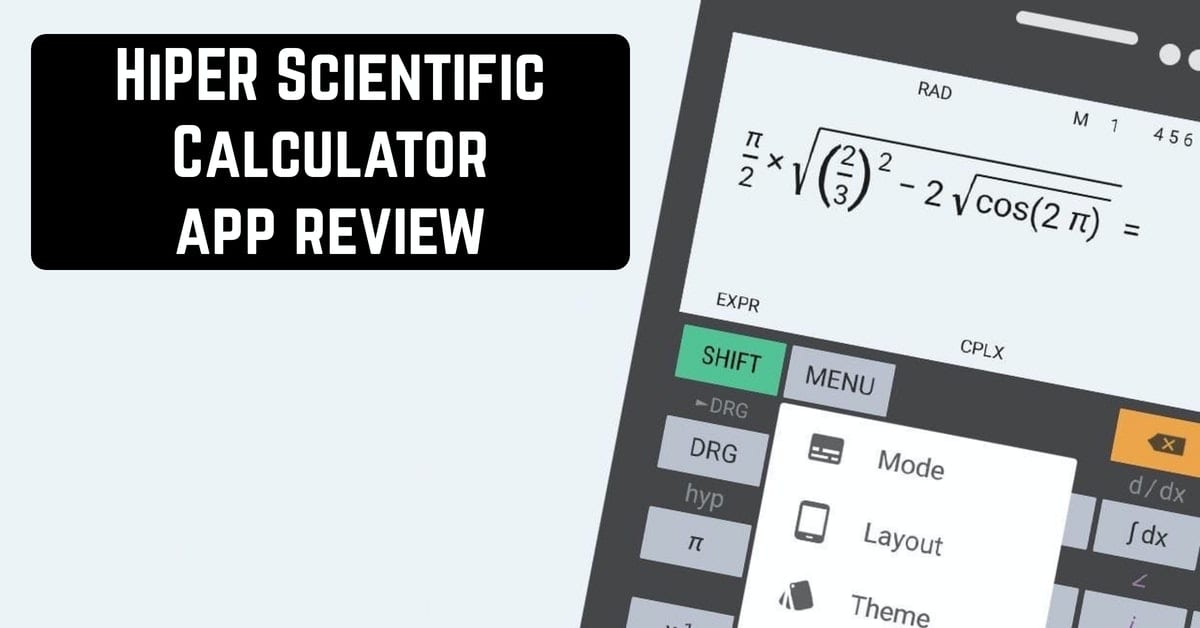 HiPER Scientific Calculator app review