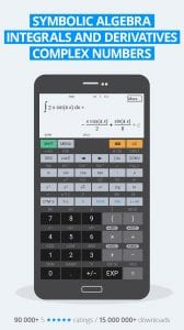 HiPER Scientific Calculator screen 1