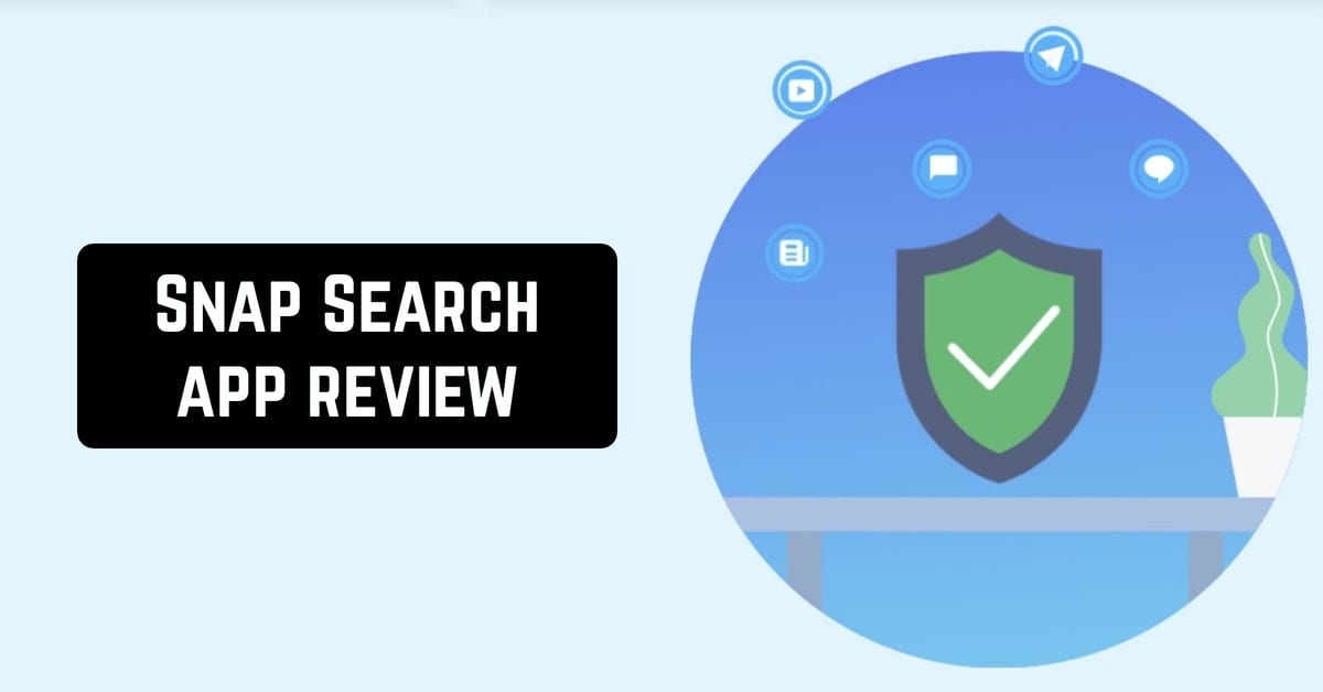 Snap Search app review