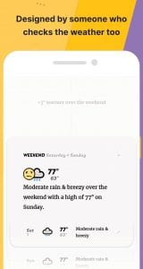 appy weather screen 1