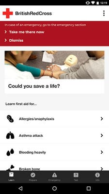 first aid by british red cross1