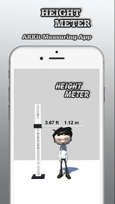 height meter ar measure app2