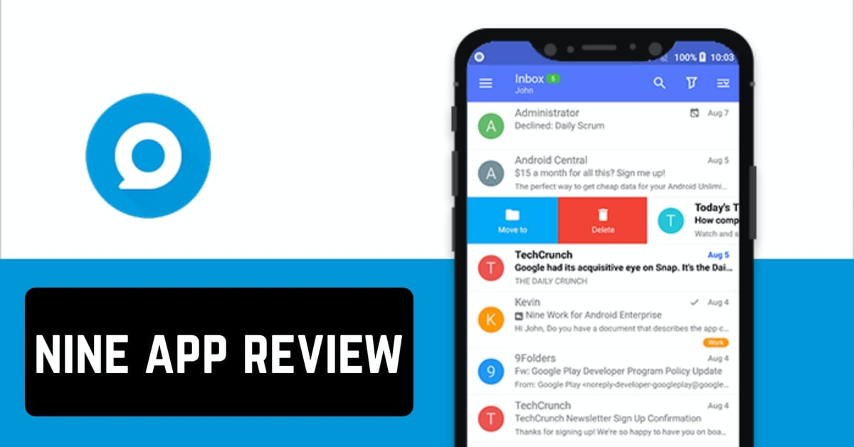 nine app review