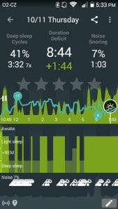sleep as android screen 1