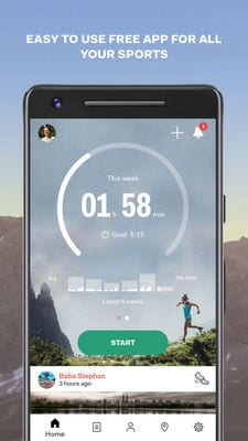 sports tracker running cycling1