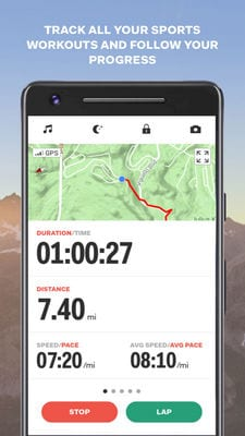 sports tracker running cycling2