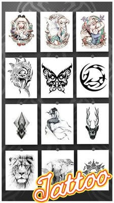 tattoo design body art editor2