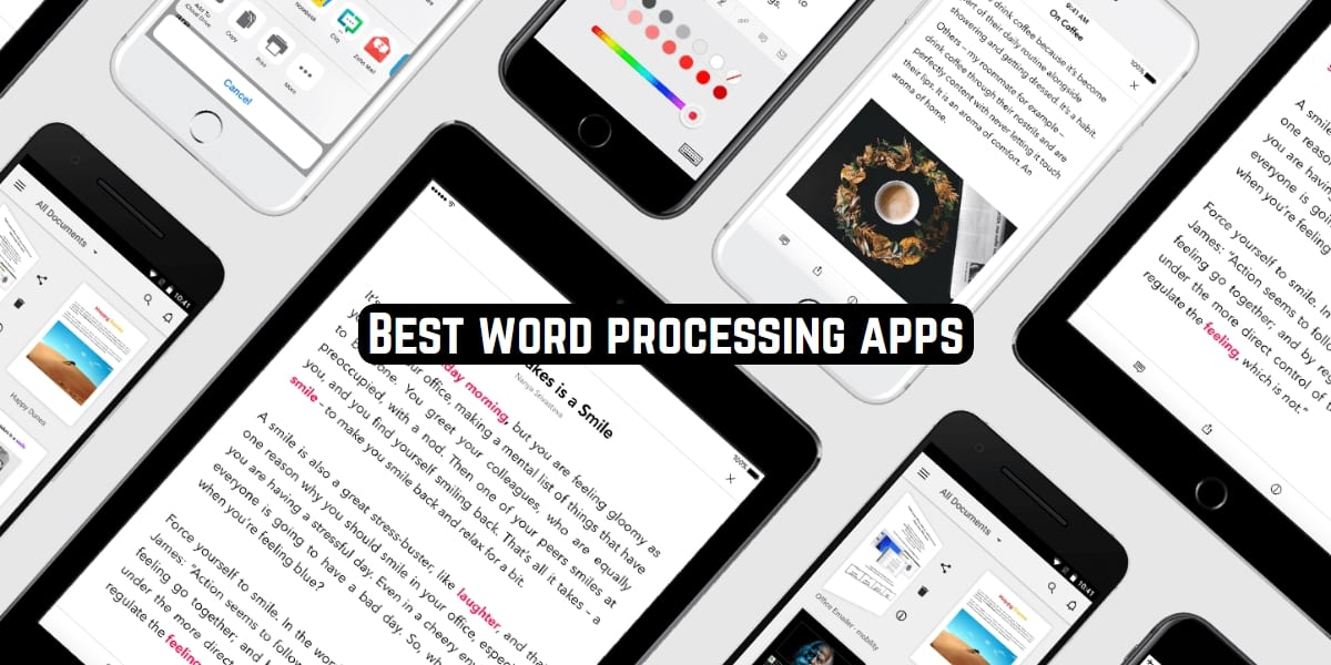 word processing apps