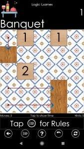 100x3 Logic Games screen 1