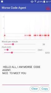 Morse Code Agent (Standard)