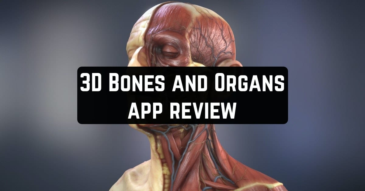 3D Bones and Organs app review