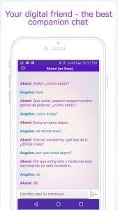 Akemi - ChatBot screen 1
