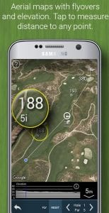 Golf GPS Rangefinder: Golf Pad screen 2