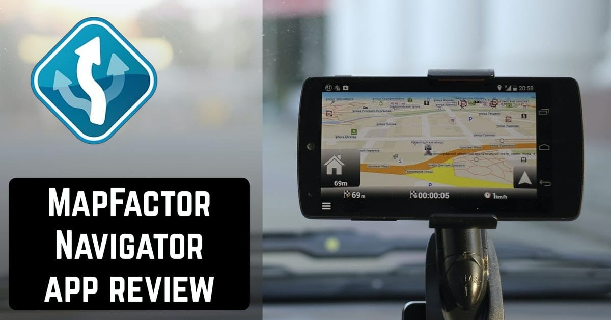 MapFactor Navigator app review