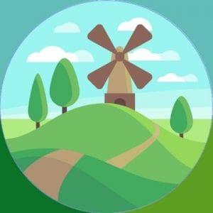 Parks Landscapes logo