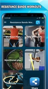 Resistance Bands Exercises and Workouts_Interface
